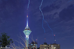 Milad Tower - Tourist Attractions - Karoon hotel 3-star Tehran Iran